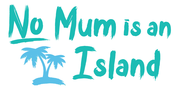 No Mum is an Island Logo
