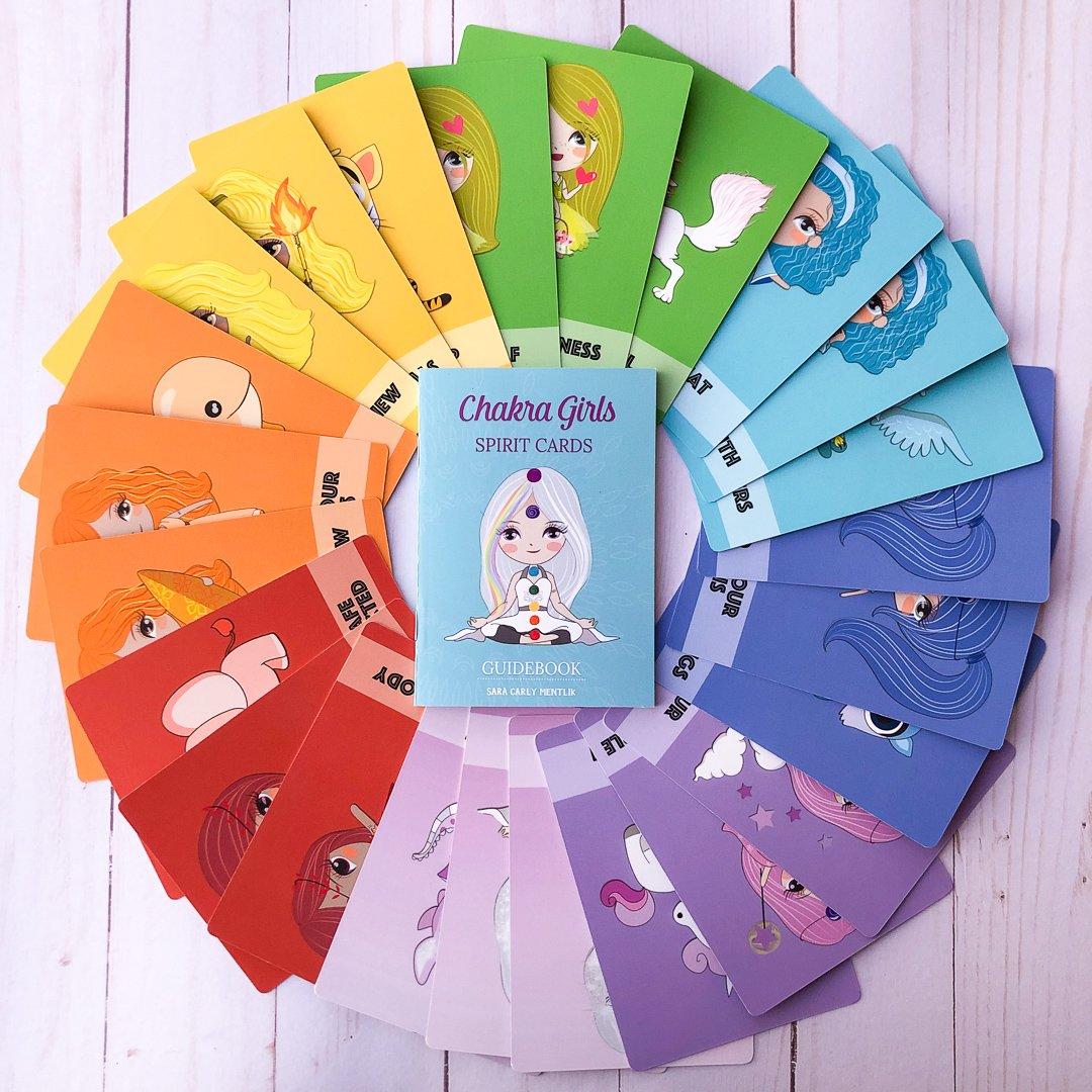 chakra girls cards