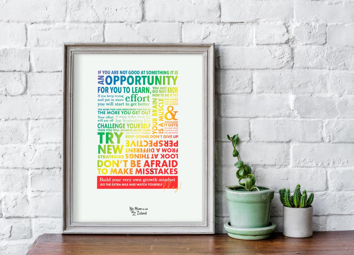 rainbow inspirational art