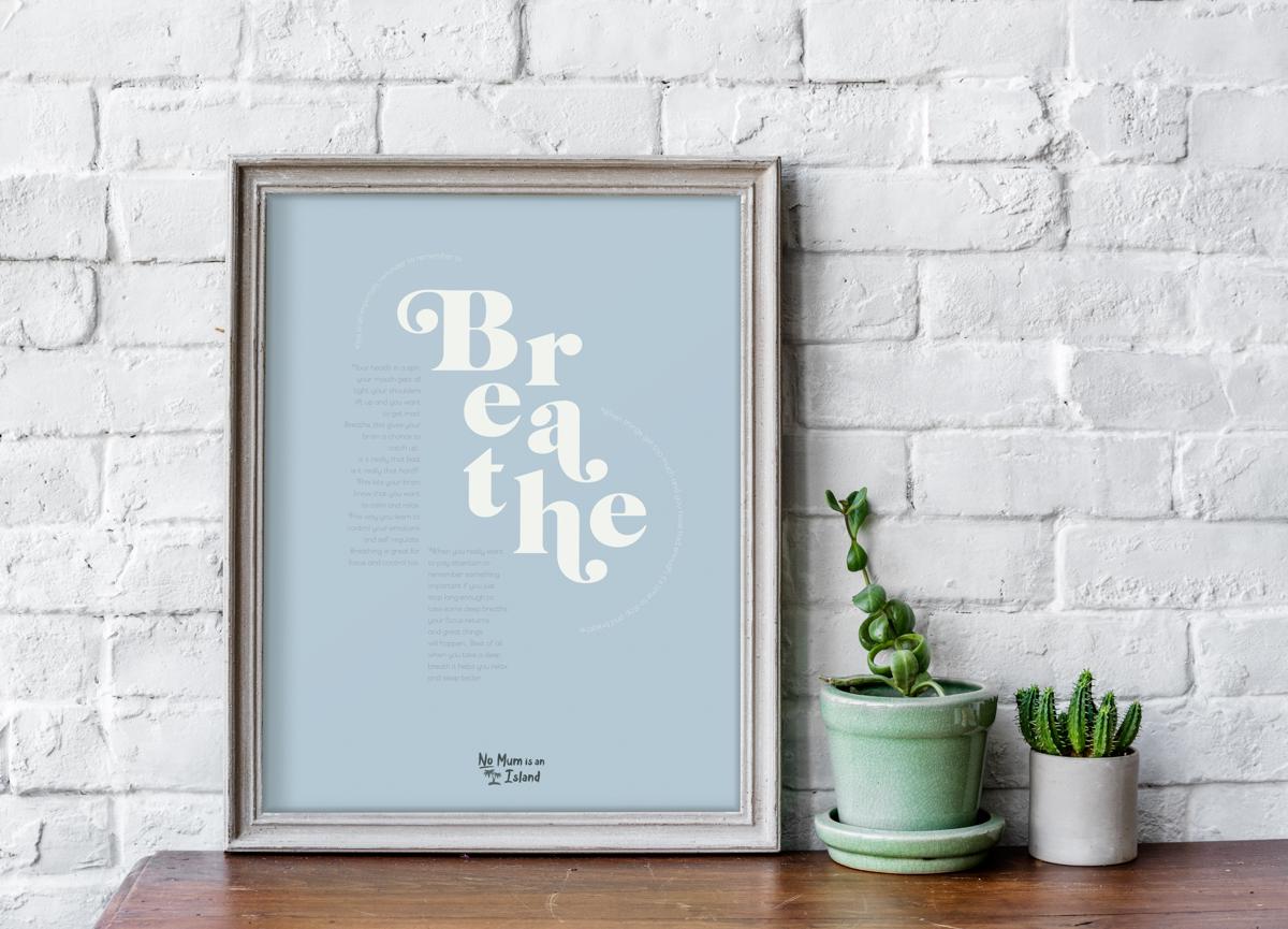 typography breathe